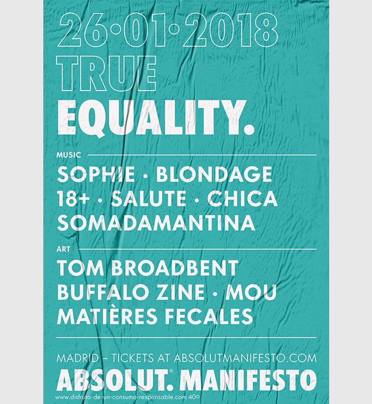 Absolut Manifesto, Pura Creatividad de Fiesta