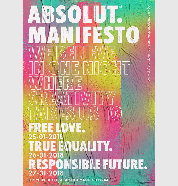 Barriobajero profetiza el futuro en Absolut Manifesto