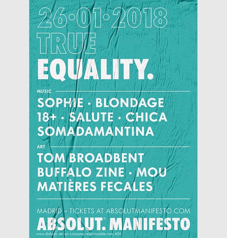 El Cuerpo del Disco @ Absolut Manifesto