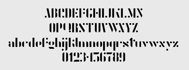 Tipografía Agent