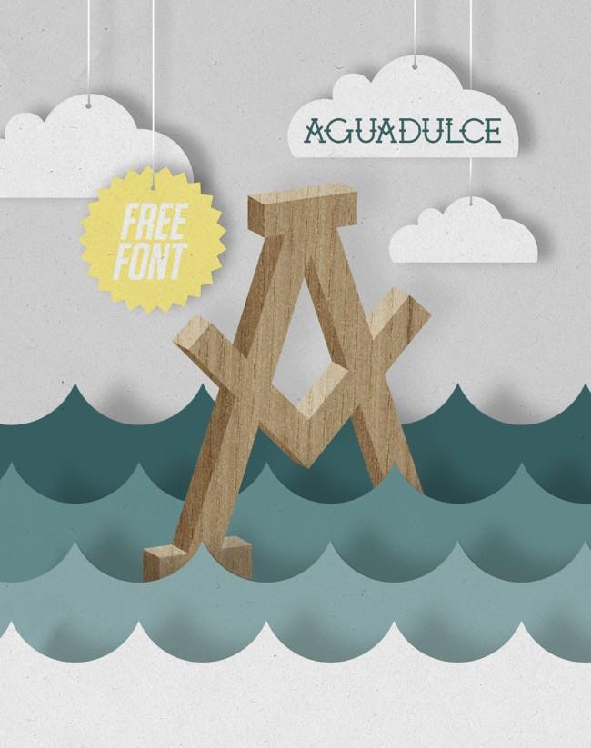 AGUADULCE FREE FONT
