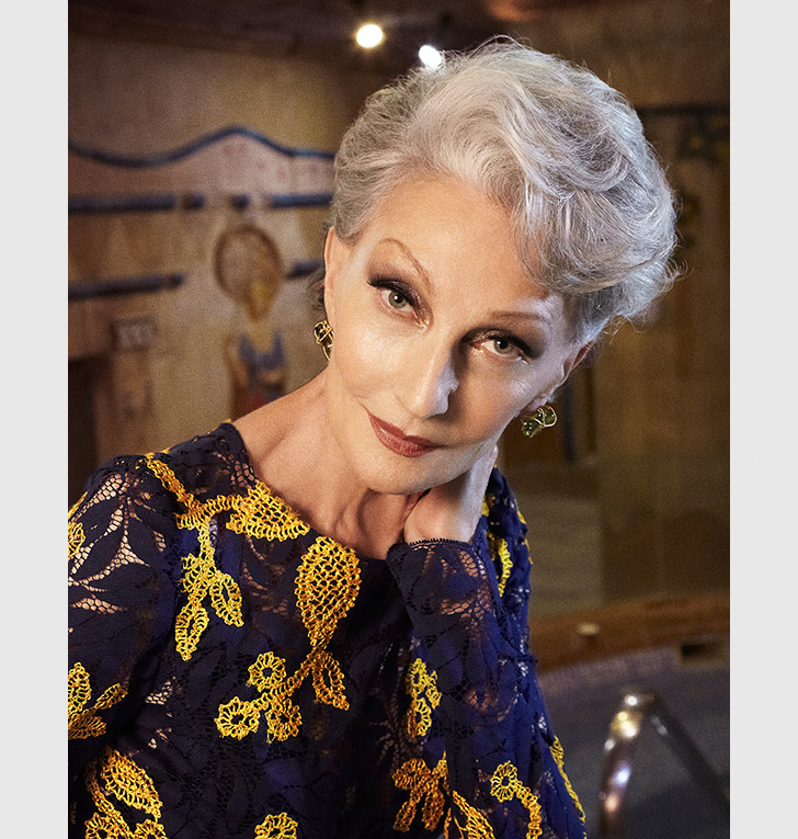 Alicia Borras, Top Model at 70