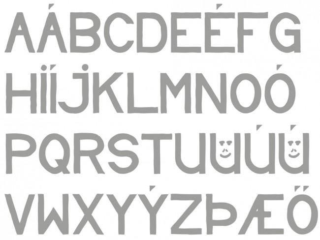 Tipografía Andmæli