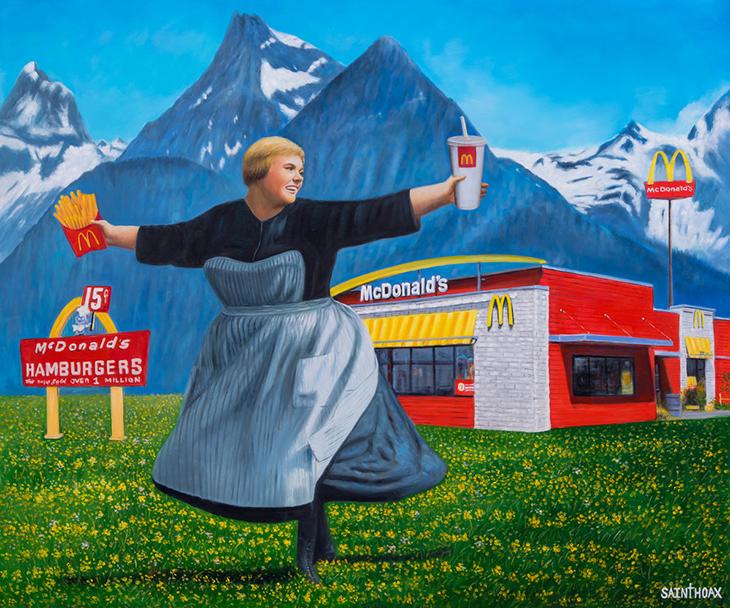 Arte Políticamente Incorrecto: Saint Hoax