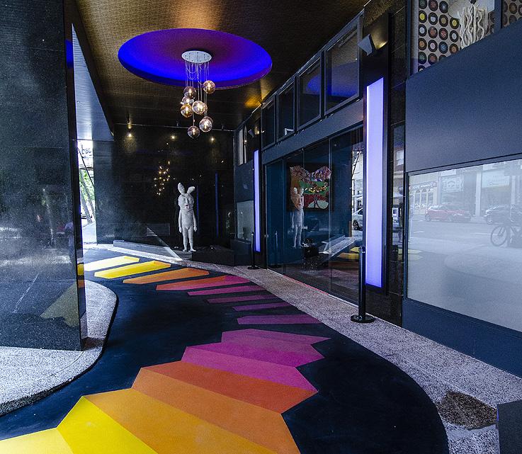 Arte urbano en el hotel NYX Madrid