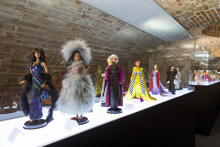 Exposición de Barbies en Madrid