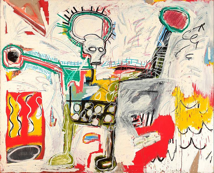 Basquiat en el Barbican