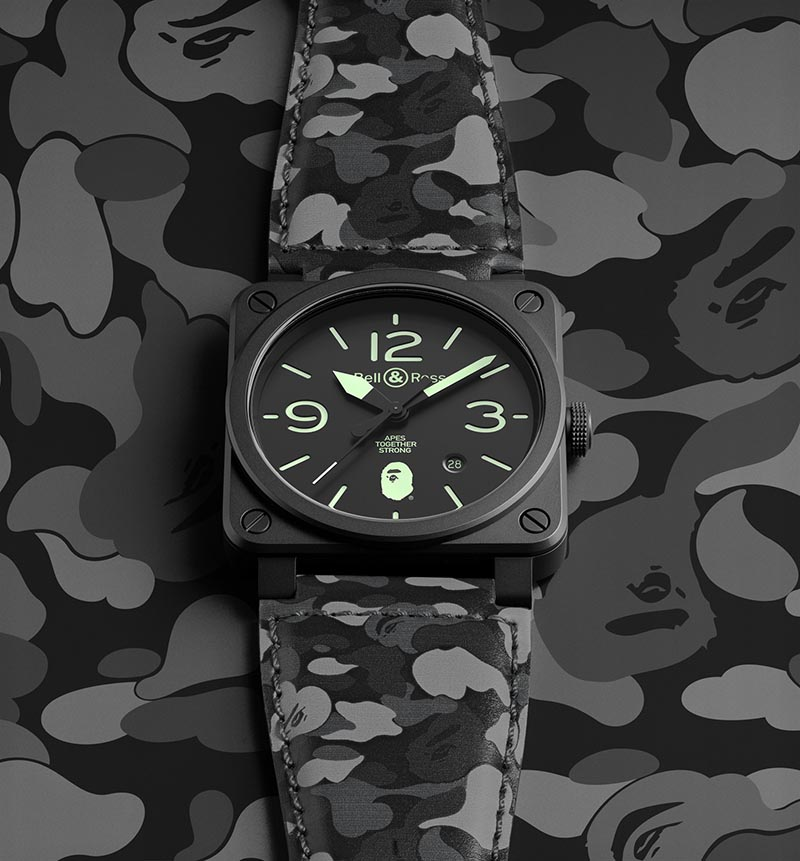 BellRoss x Bape Japan