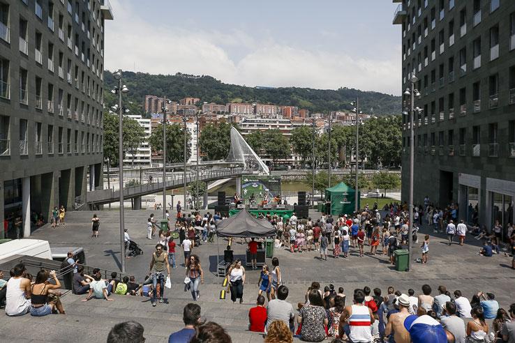 BBK Live convierte Bilbao en todo un escenario