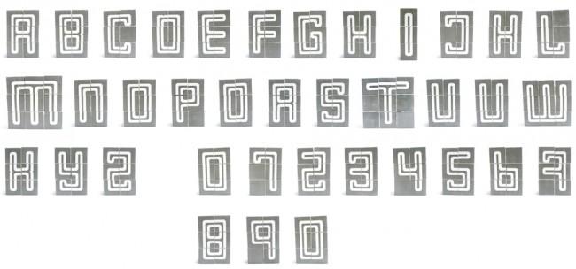 Tipografía Blok