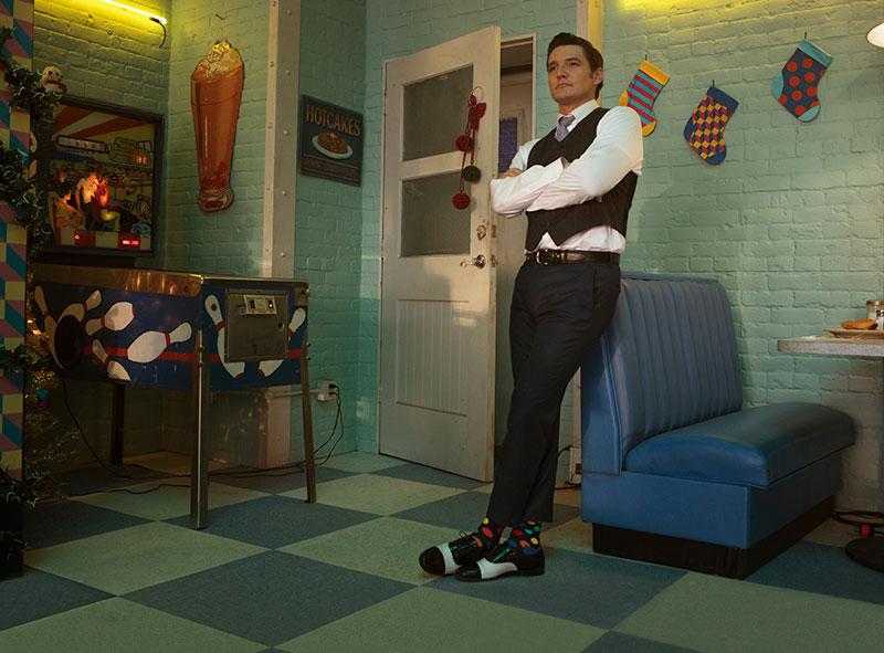 Pedro Pascal, Tim Erem y Happy Socks