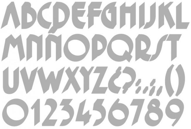 Tipografía Caligraph