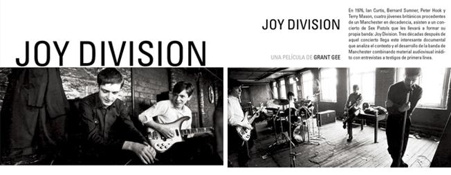 JOY DIVISION EN DVD