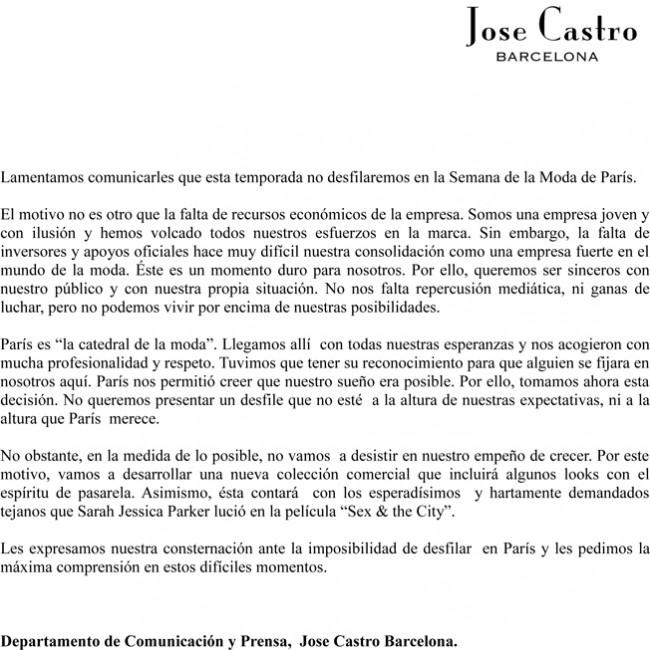¡JOSÉ CASTRO ES MUY GRANDE!