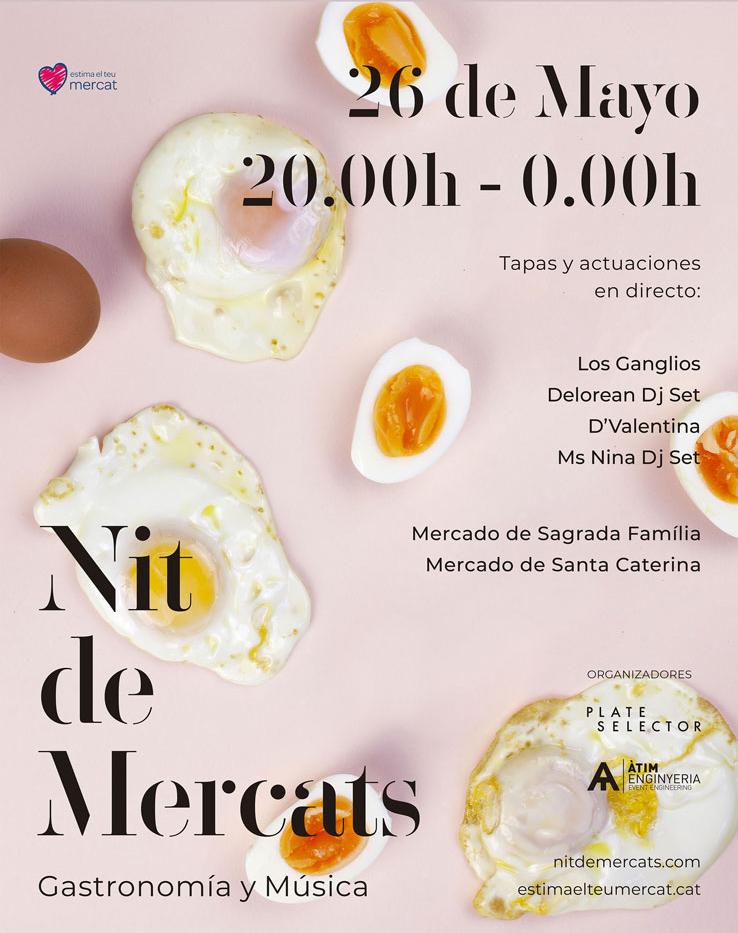 Festival gastromusical: Nit de Mercats