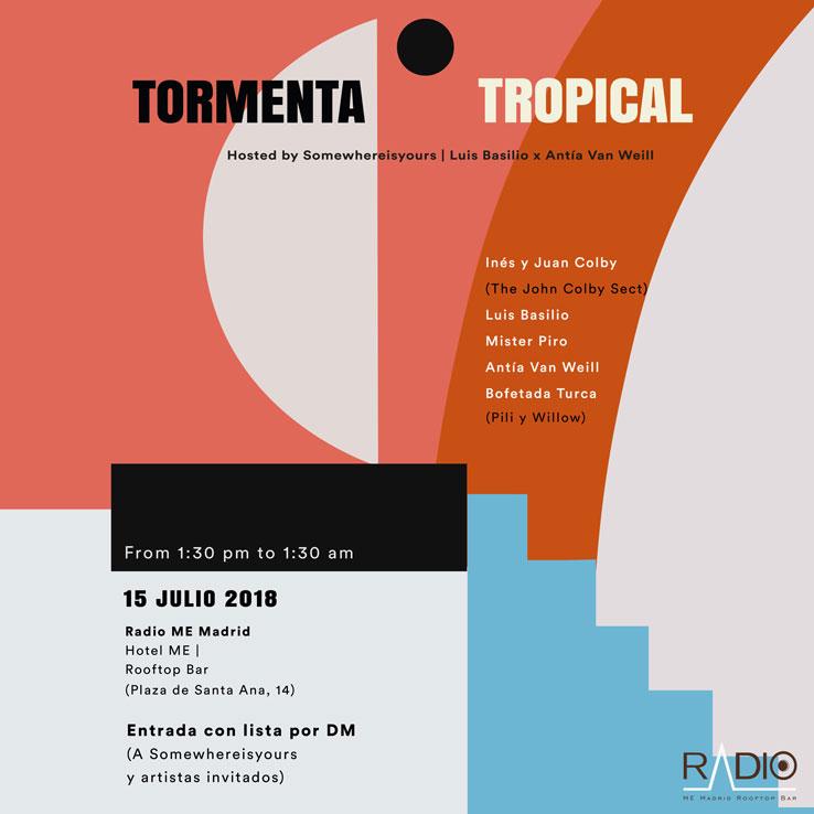 cartel-tormenta-tropical-foto-1 Tormenta Tropical este domingo en Madrid