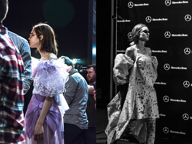 Célia Valverde Premio Mercedes-Benz Fashion