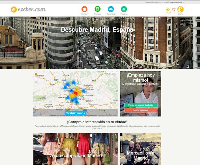 EZEBEE.COM CITY PAGE MADRID