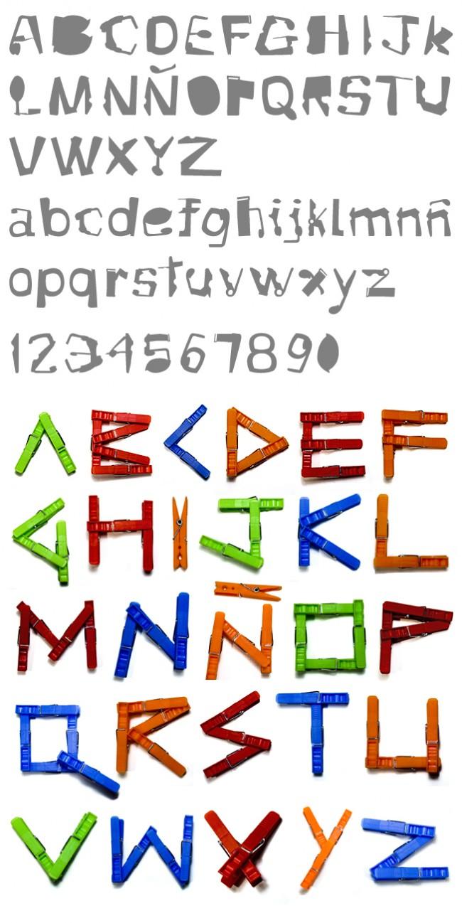 Tipografía Clink
