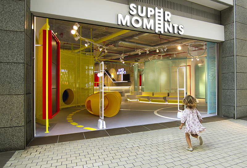 Super Moments, el playground de CuldeSac