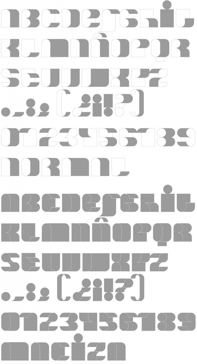 Tipografía Curuxa