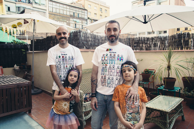 Camiseta Desigual LGTBIQ+