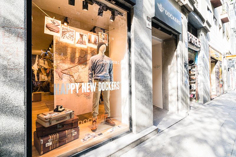 Nueva tienda Dockers en Madrid