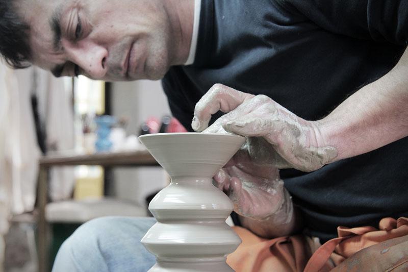 JC. Iñesta de Domanises: La cerámica está de moda