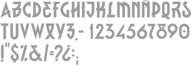 Tipografía Depalo Sans