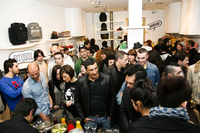 STUSSY CHAPTER STORE MADRID