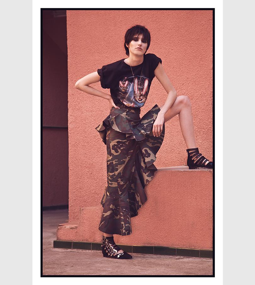 Editorial de Moda Rockera x Amílcar Lusinchi