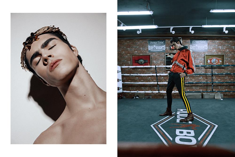 Editorial de Moda Chicos x Dominik Valvo