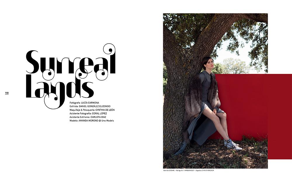 Editorial de Moda x Lucía Carmona