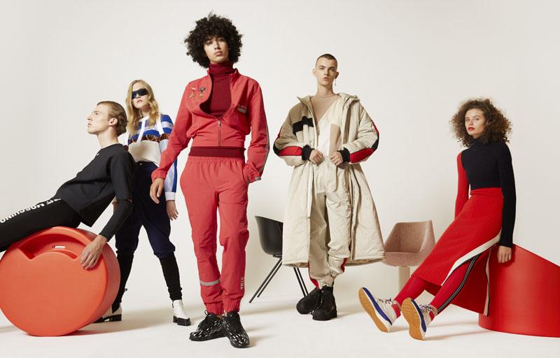 Editorial de Moda Sit Up! con Antártica en Neo2