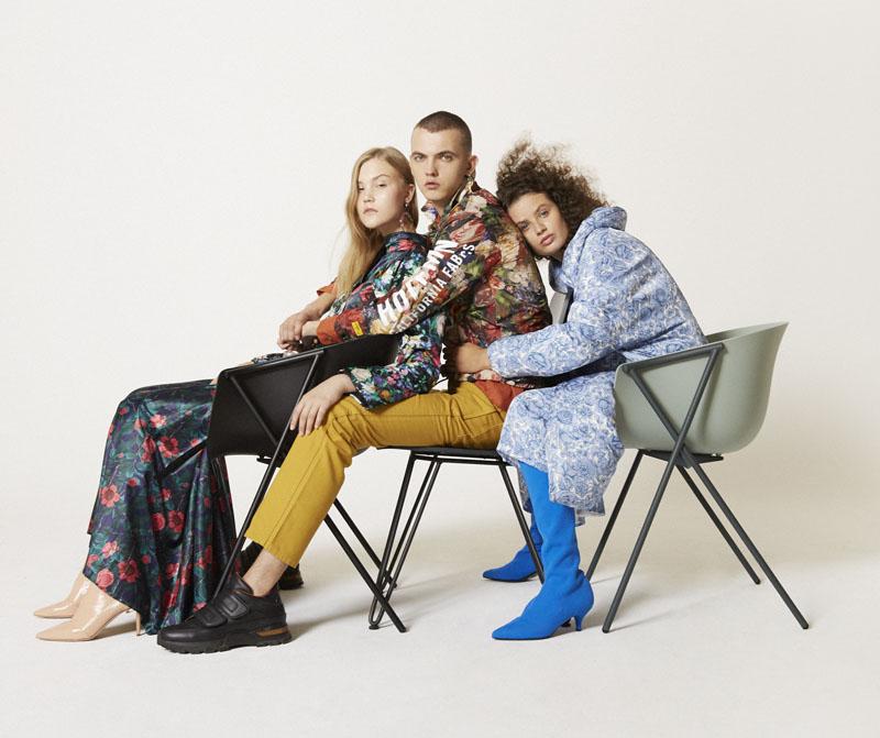 Editorial moda neo2 Antartica trio con sillas de Ondarreta
