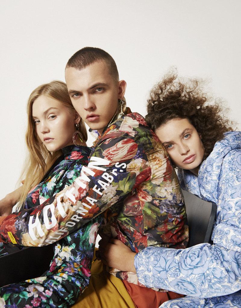 Editorial moda neo2 Antartica trio primer plano