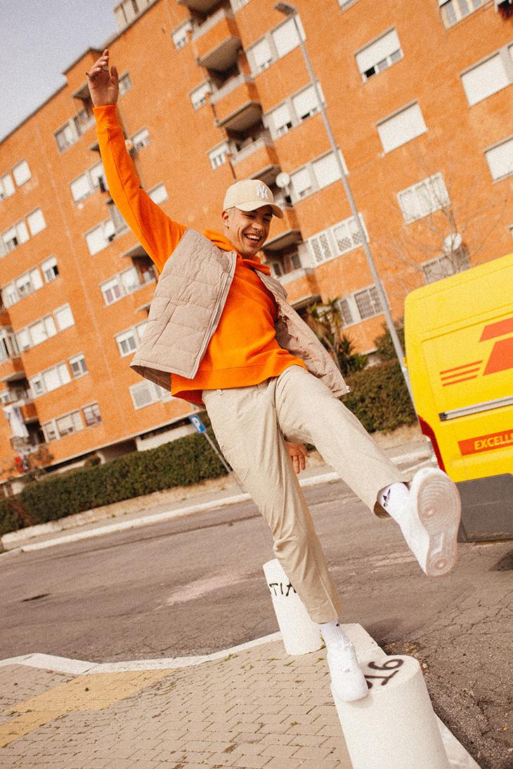 Editorial Streetwear x Simone Ammendola