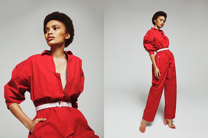 Editorial de moda rosa X Rubén Vallejo