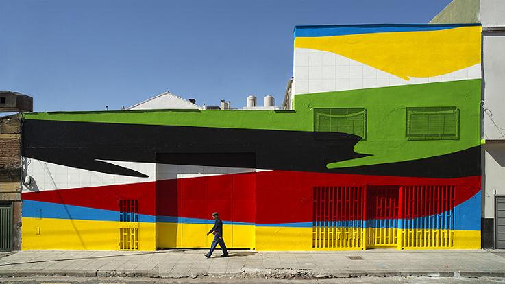 Elian Chali, militante del arte urbano