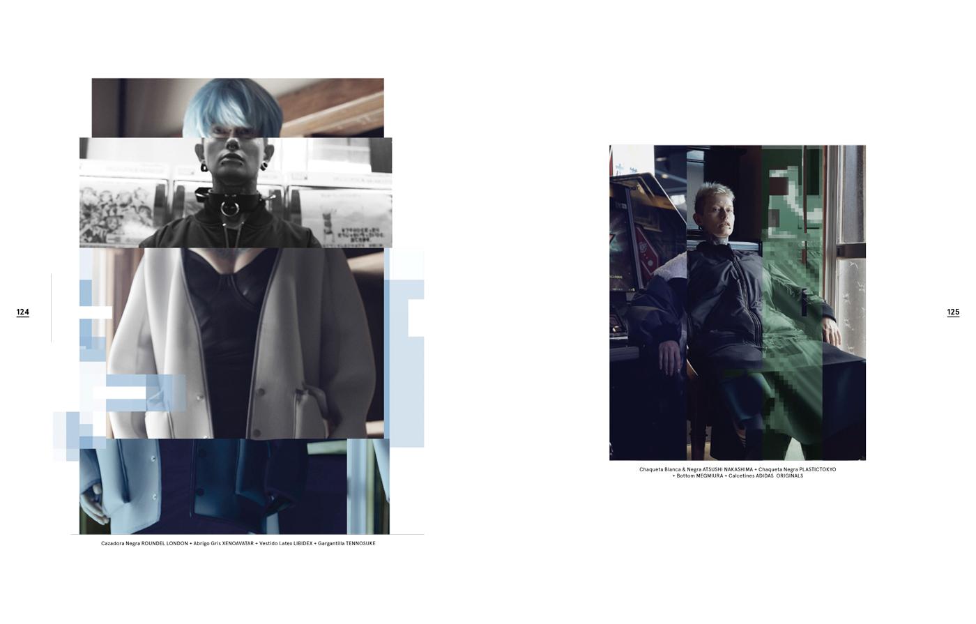 Fashion Editorial x Teruo Horikoshi
