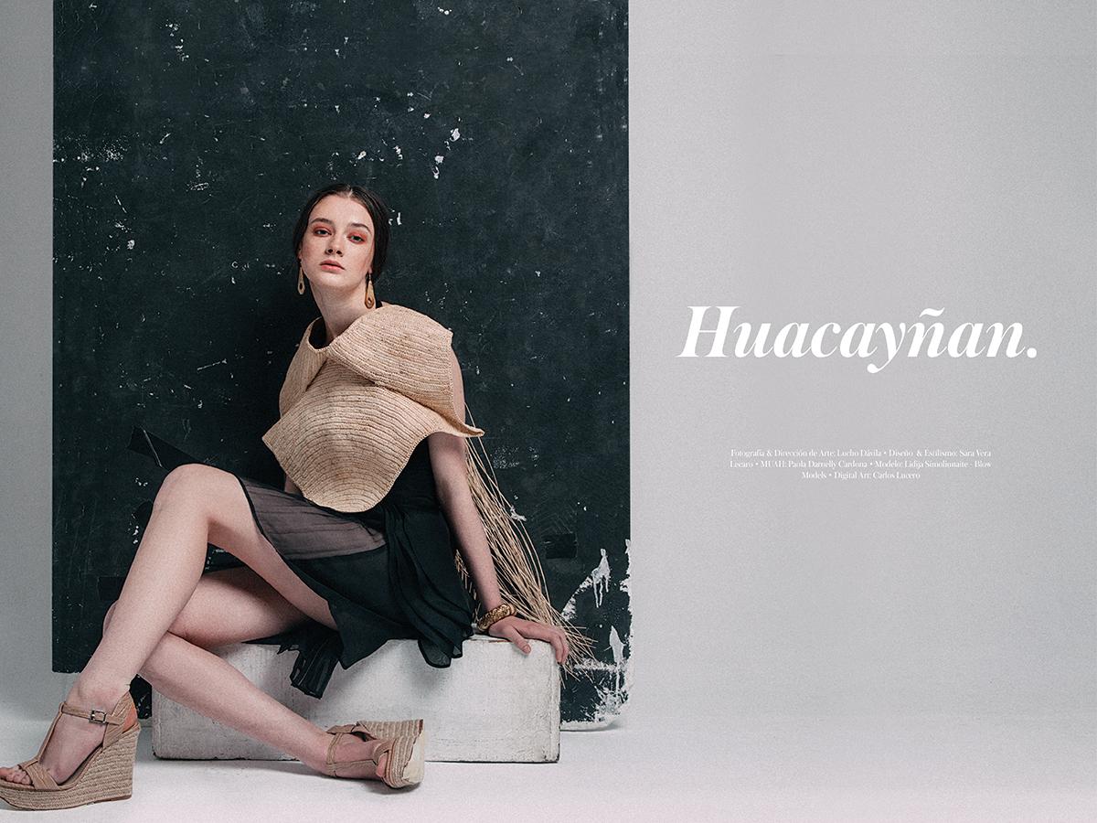 Fashion Editorial x Lucho Dávila & Sara Vera