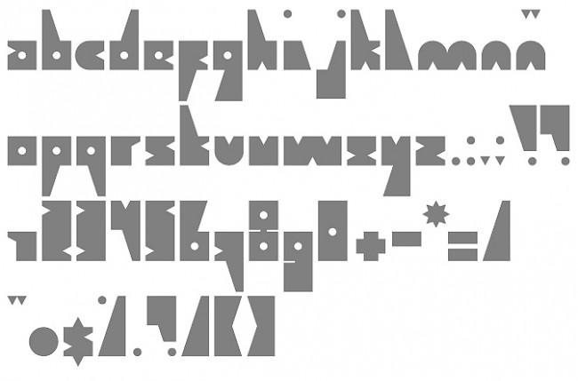 Tipografía Get Free