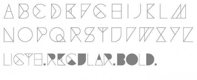 Tipografía Geuse