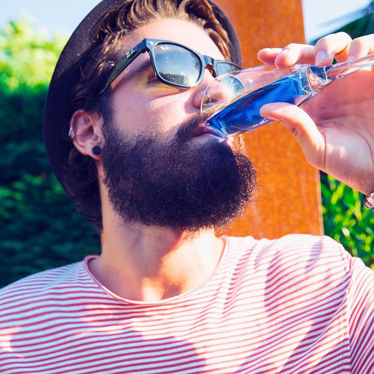 La bebida azul
