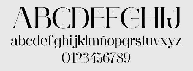 Tipografía gratuita Ginebra