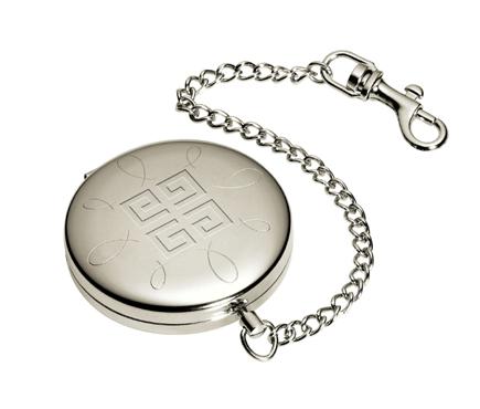 No es un reloj de bolsillo, es una polvera