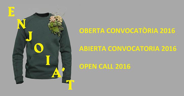 Convocatoria Premios Enjoia't 2016