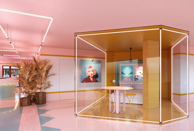 suite zero en el Hotel Paradiso Ibiza