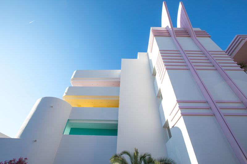 fachada del Hotel Paradiso Ibiza