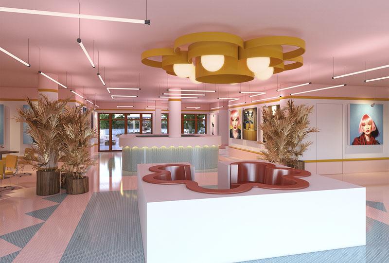 Lobby del Hotel Paradiso Ibiza
